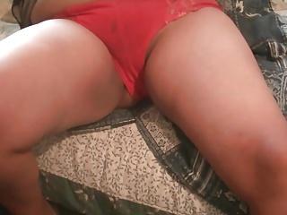 De calcinha vermelha muito usadinha 2