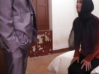 Sultry shy Arab wife spread her legs for big thick cock cuckold romance