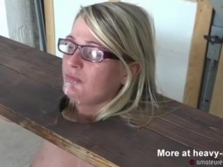 BDSM galumph, urgency Sybian with an increment of Blowjob
