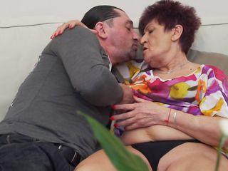 Horny Granny Karina