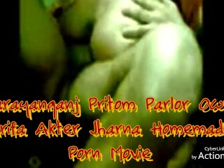 Narayanganj Pritom salon possessor Arifa Jharna Homemade intercourse Film