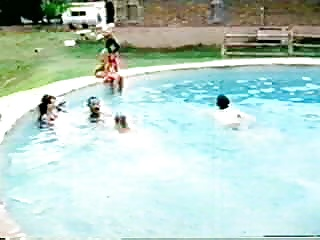 Amputee at the pool
