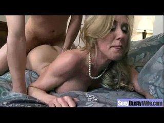 Sex Tape With Big Melon Tits Horny Mature Wife (brandi love) video-08