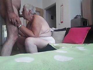 Thirsty grandma....