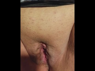 Steamy wifey sprays and ejaculations numerous times