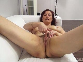 Mature lady pornography audition