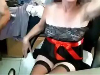 Ugly Mature Woman in Glasses Masturbates Webcam Show CamGirlCumClub.Com