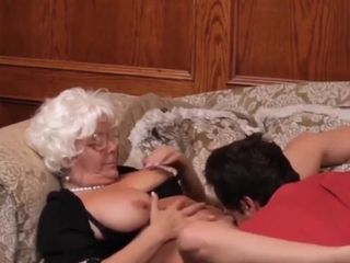 Lewd grandma pornography movie