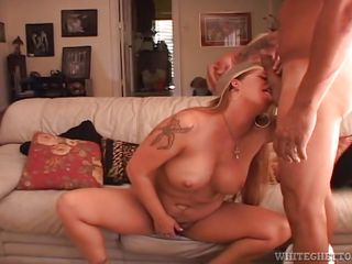 Tattooed Fattish Milf Gets Dirty @ So Hairy It's Scary