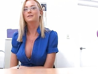 Mature sweetheart is stud with wet blowjob