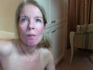 Webcam Wichse Schlucken Amateur