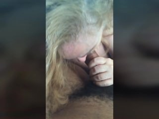 Young stud bust a cum load in blond GILf mouth