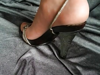 Pantyhose Feet Shoeplay
