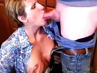 mature divorcee janet and a friend of her son