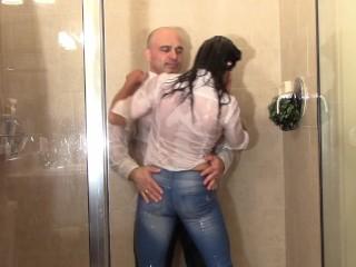 Billet coupler soiled (Shower Scenes)