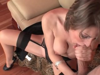 MILF in Stockings & Heels getting fucked