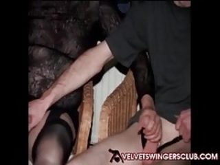 Velvet Swingers Club real couples orgy party