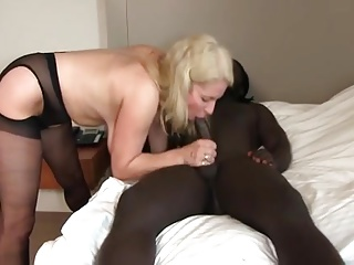 Mature Anal with BBC