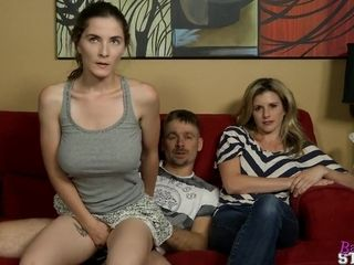 Huge-chested Step-Daughter lovemaking