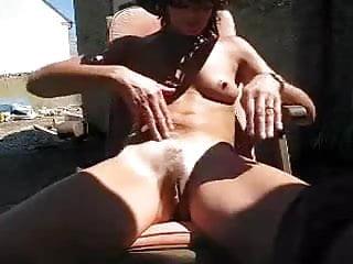 Wifey in the sun